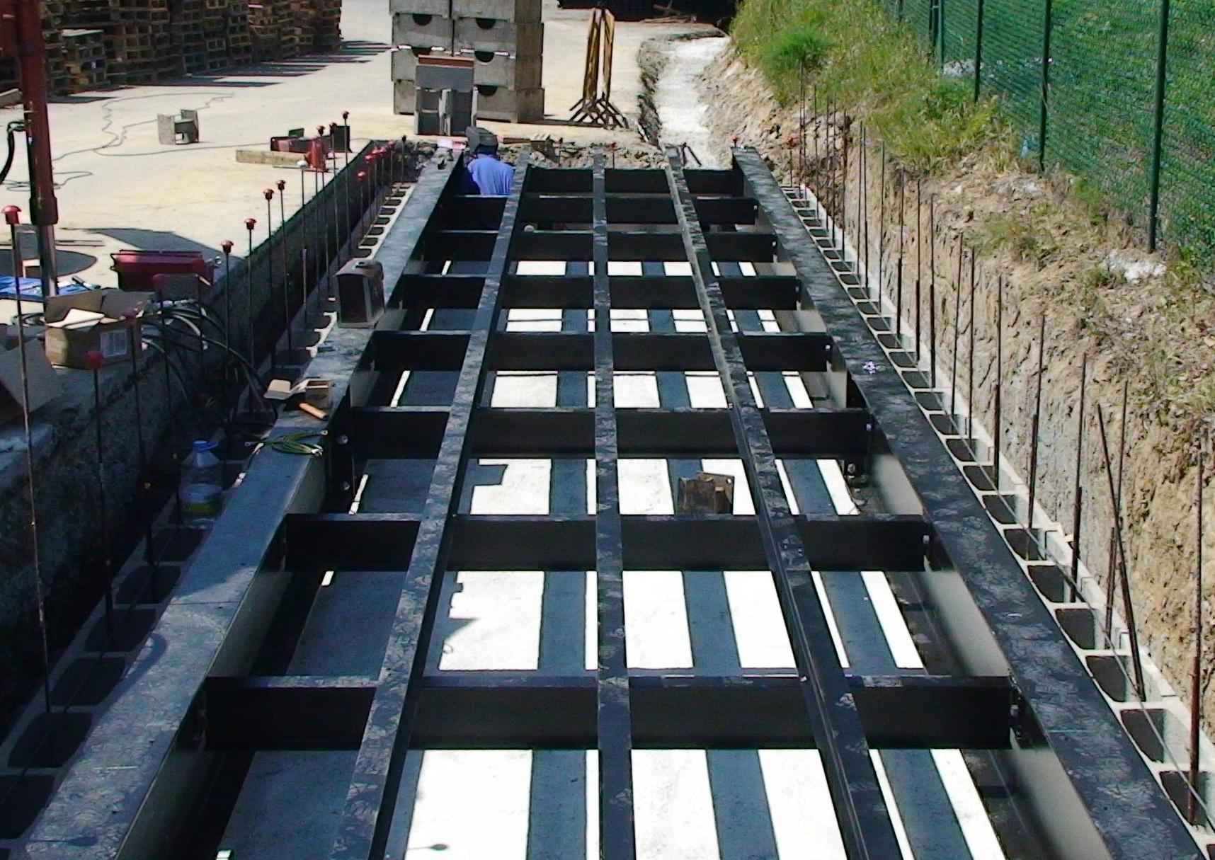 Estructura bascula de camiones